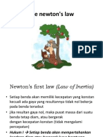 Hukum Newton, Usaha Dan Energi