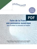 Faire de la France une puissance numérique