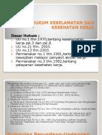Dasar Hukum K3