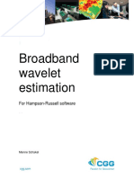 Broadband Wavelet Estimation