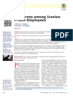 Job Stress Among Iranian
