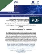 Le role des politiques monétaires.pdf