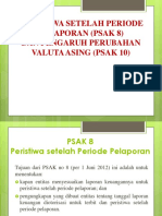 Pelaporan Korporat - PSAK 8 dan PSAK 10