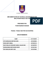Implementation of Accrual Accounting in Malaysian Public Sector