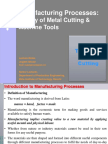 7106885 Theory of Metal Cutting