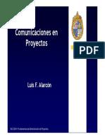 Comunicaciones en Proyectos - Clase 3 FAP