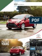 18 Yaris Hatchback Brochure En