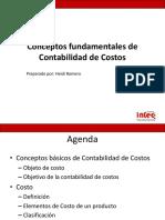 INI-323-1. Fundamentos Contabilidad de Costos