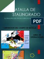 Batalla de Stalingrado by Rodrigo