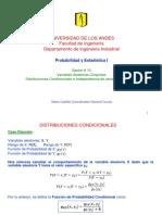 13. Variables Aleatorias Conjuntas Condicionales