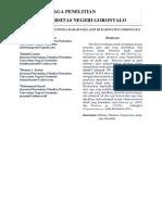 Tingkat Kejadian Penyakit Protozoa Darah Pada Sapi Di Kabupaten Gorontalo
