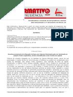 Informativo consolidado 2013