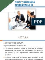 Gestion y Docencia Universitaria III