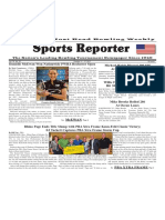 October 11 - 17, 2017  Sports Reporter