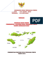 Standar Biaya Umum Provinsi NTT Tahun 2017