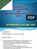 Antibiotik, Analgetik & OAINS