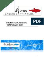 Proyecto Deportivo Club Triatlon Caceres Temporada 2015