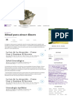 Ritual Para Atraer Dinero - Mi Carta Astral