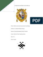 Informe- Juicios de Nuremberg Parte Penal