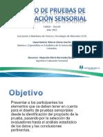Informe Curso - Diseño de Pruebas de Evaluación Sensorial