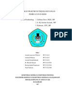 Laporan Praktikum Kel. Teknologi Pangan Es Krim