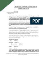 Diseño de Instalaciones Interiores Electricas de un Colegio.pdf