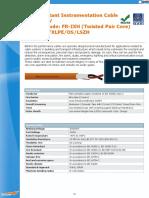 Benka FR Data Cable - Mica Fire Barrier