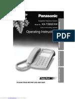 Tele Filaire Panasonic