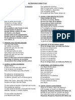 Canciones Matrimonio