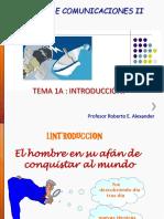 Tema 1 Del Curso de Comunicaciones II Marzo de 2014