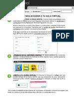 instrucciones de acceso alumno  saviadigital