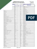 Standard Abbreviation List by Siemens 20