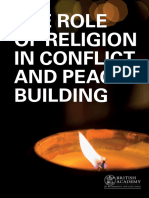 The Role of Religion in Conflict and Peace-building