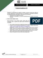 PA3 Direccion de Proyectos