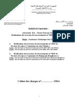 Cahier Des Charges - SUIVI Aire de Repos Ain Nehala Hammam Boughrara REV01