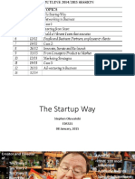 01_ the Startup Way 2015