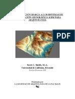 Introducción Básica a Los Sistemas de Información Geográfica (GIS) Para Arqueología