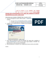 Guia Actualización Especial Version 12.50