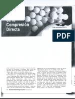 evaluación de la compresión directa