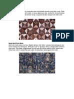 Batik Motif Tambal