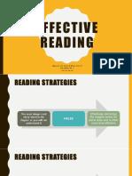 Effective Reading 2016