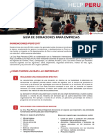 170427_Guía de Donaciones Para Empresas - Emergencia Inundaciones Perú CUP