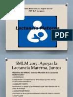 Tema Lactancia Materna IMSS