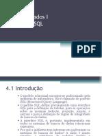 Banco de Dados Capitulo4