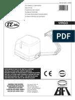 Manual Instalare Programare BFT Virgo