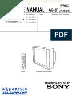 Triniton Sony - Pq12rf11