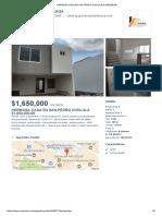 HERMOSA CASA EN SAN PEDRO CHOLULA $1,650,000