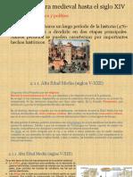 La Literatura Medieval hasta El Siglo XIV