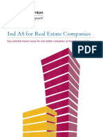 Ind as for Real Estate Companies