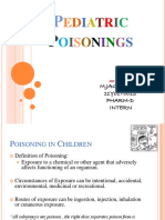 Pediatric Poisoning